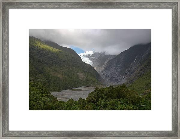 Franz Josef Glacier  Framed Print
