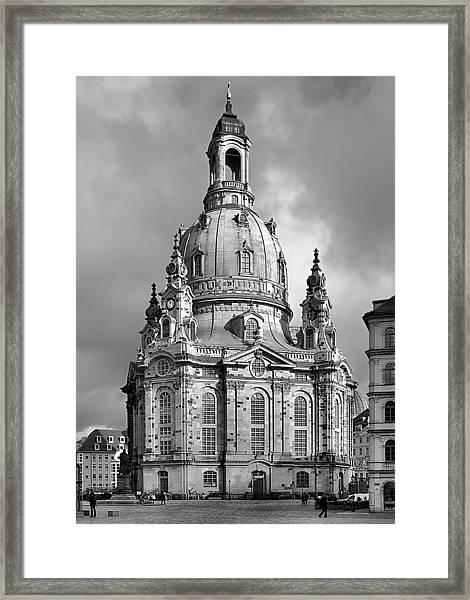 Frauenkirche Dresden - Church Of Our Lady Framed Print