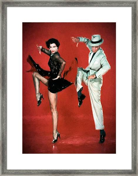 Fred And Cyd Framed Print