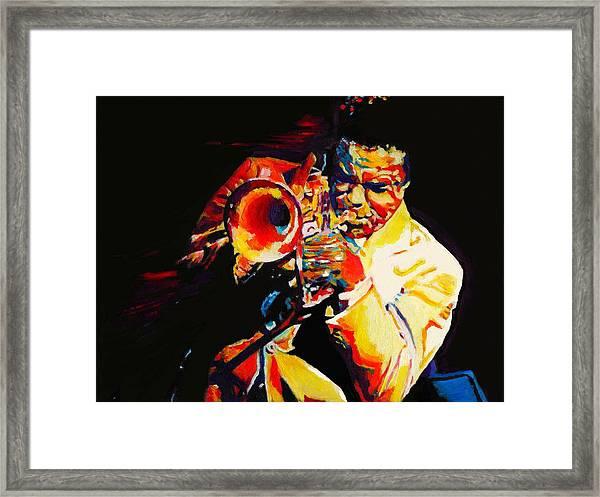 Freddie Hubbard Framed Print by Vel Verrept