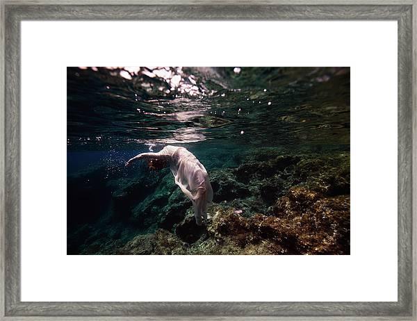 Free Mermaid Framed Print
