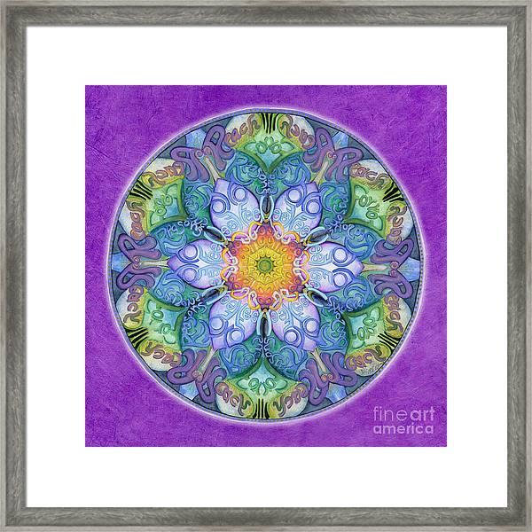 Freedom Mandala Framed Print