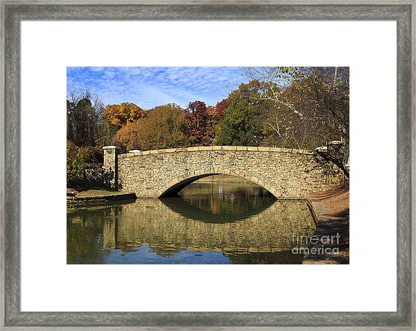 Freedom Park Bridge Framed Print