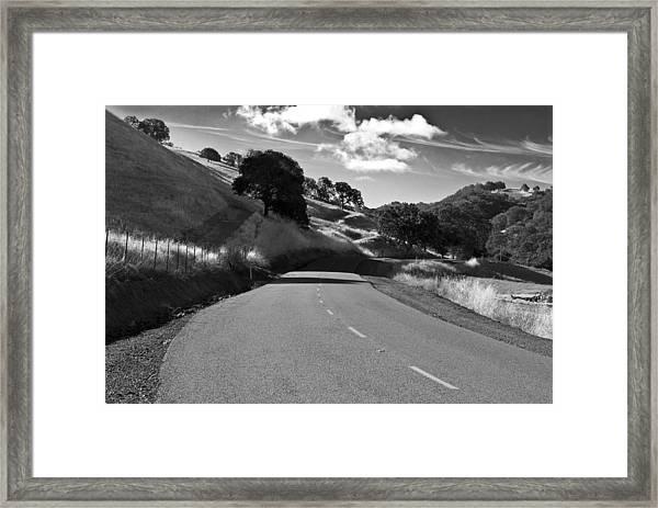 Freedom Road Framed Print