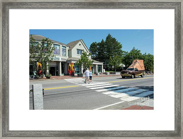 Freeport, Maine #130398 Framed Print