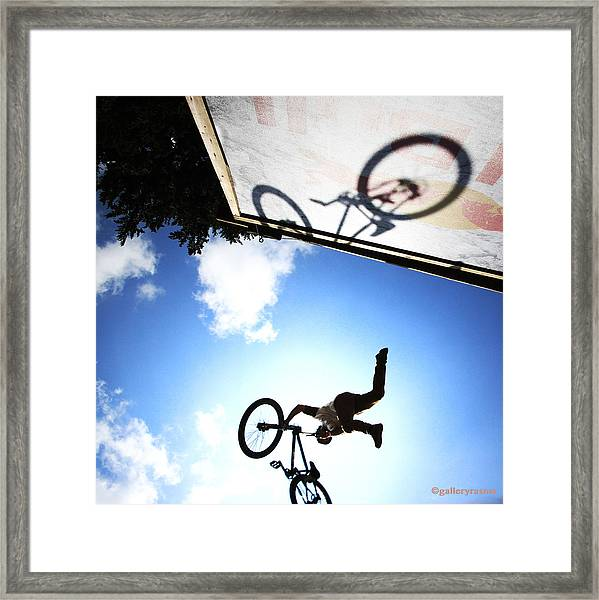 Freestyle Shadows Framed Print