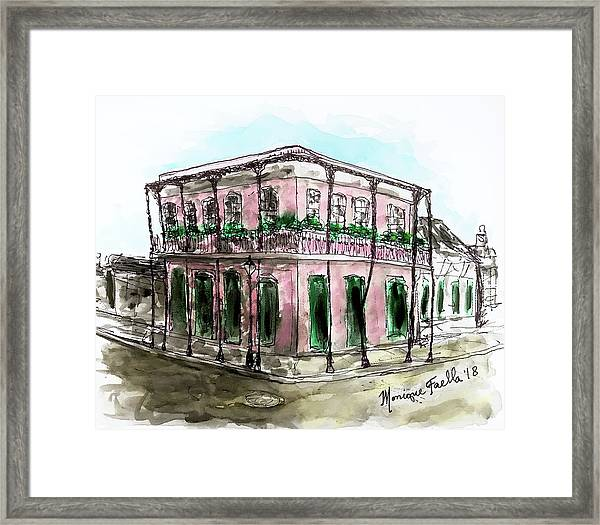 French Quarter Framed Print