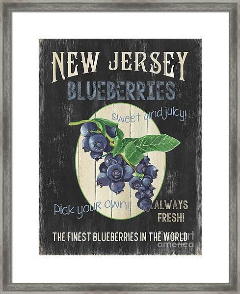 Fresh Berries 1 Framed Print