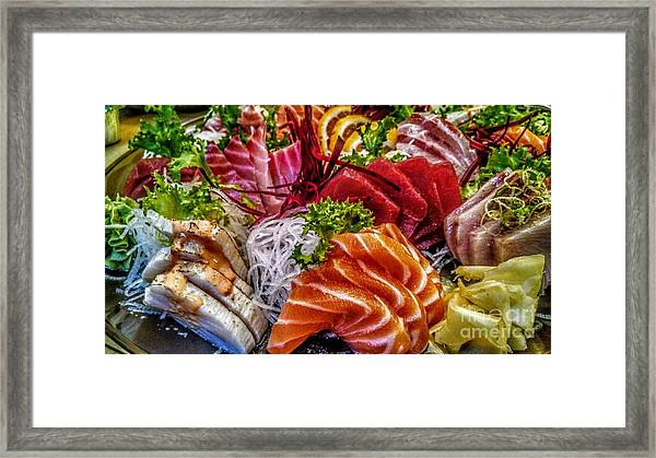 Fresh Fish Framed Print