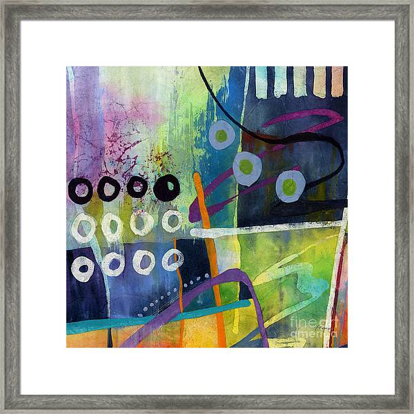 Fresh Jazz In A Square 2 Framed Print