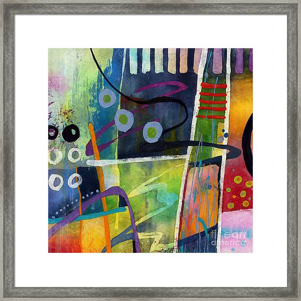 Fresh Jazz In A Square Framed Print