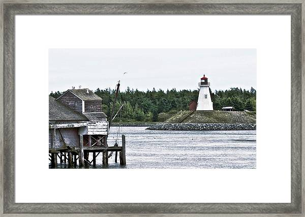 Friar's Head Lighthouse Framed Print