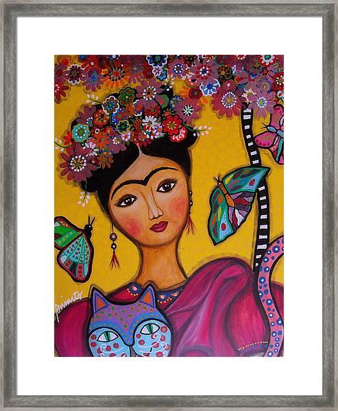 Frida Kahlo Framed Print