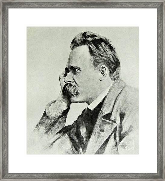 Friedrich Nietzsche, 1912 Framed Print