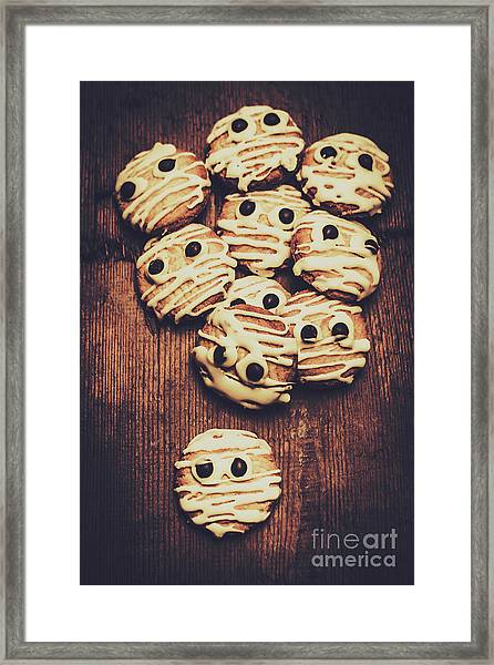 Fright Night Party Baking Framed Print
