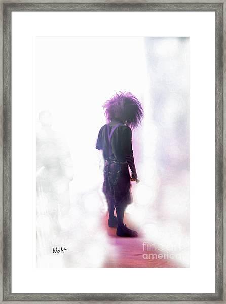 Frightdome Clown Framed Print