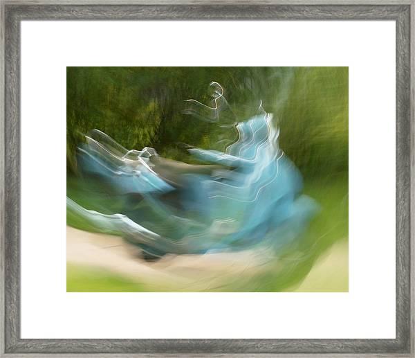 Oh Be Joyful Framed Print