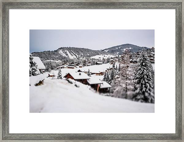 From A Distance- Framed Print