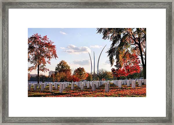 From Arlington Framed Print