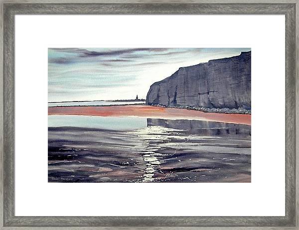 From Dane's Dyke Towards Bridlington Framed Print