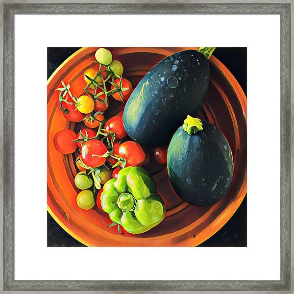 From My Garden Framed Print