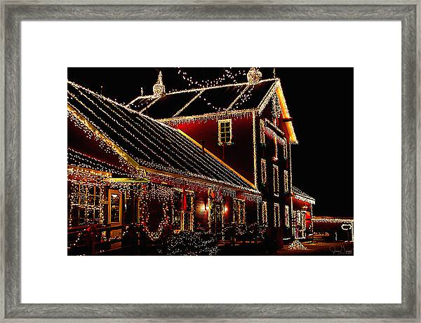 From Our Home To Yours Framed Print