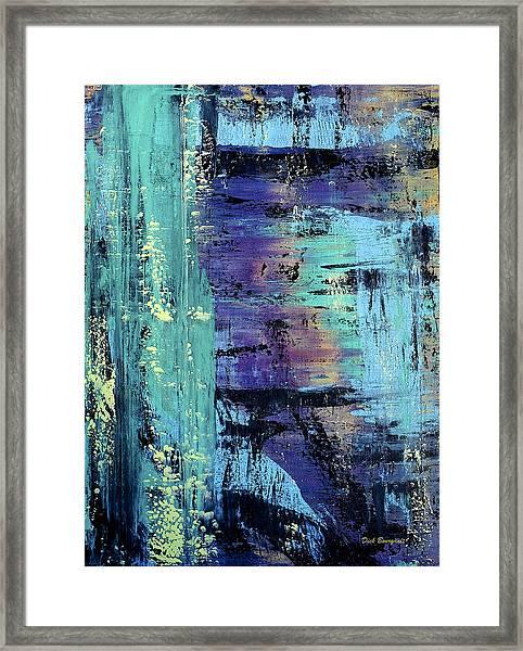 From The Depths Framed Print