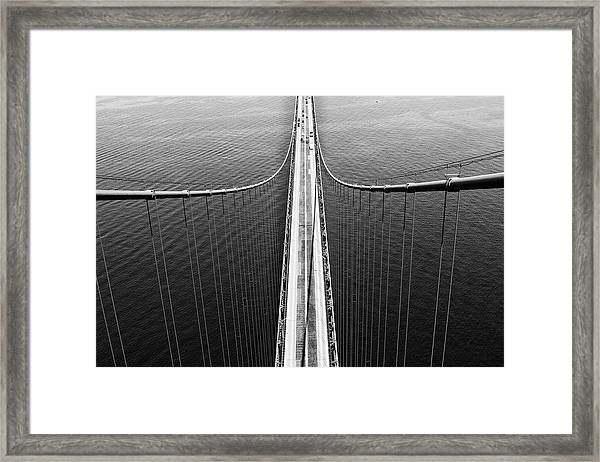 From The Top Framed Print