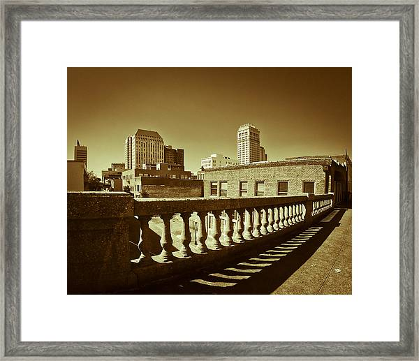 From The Viaduct Framed Print