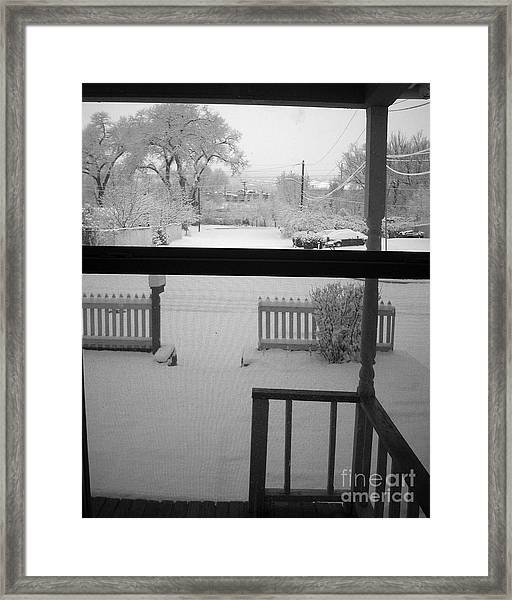 From The Warmth Of Framed Print