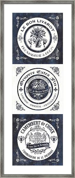 Fromage Panel 1 Framed Print
