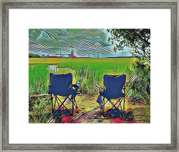 Front Row Seat Framed Print