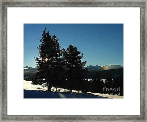 Frostbow Framed Print