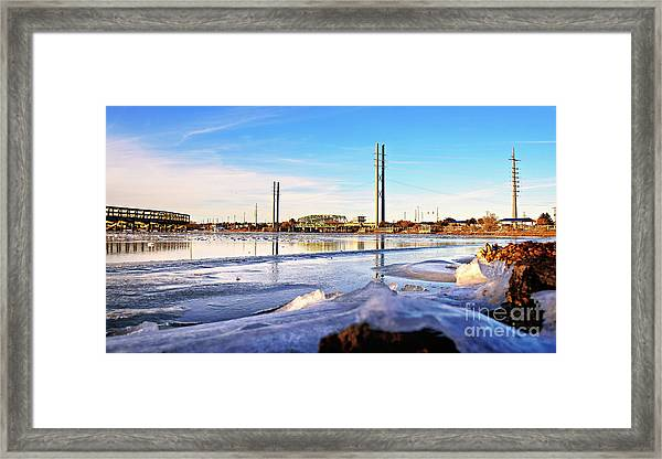 Framed Print featuring the photograph Frozen In Time by DJA Images