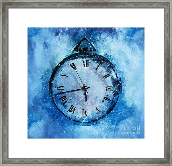 Frozen In Time Framed Print