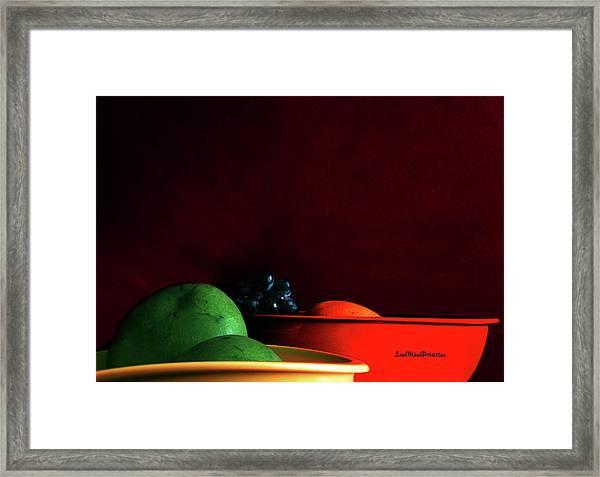 Fruit Art Photograph Framed Print