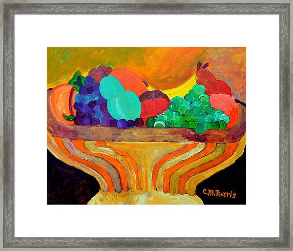 Fruit Bowl 1 Framed Print