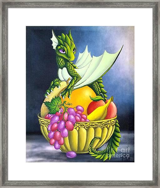 Fruit Dragon Framed Print