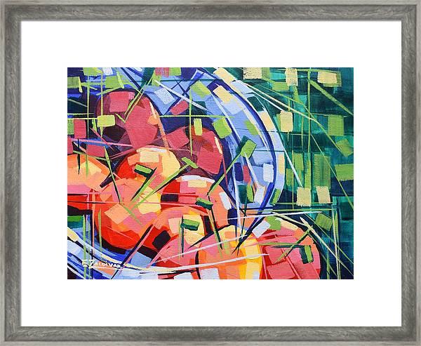 Fruit Platter Framed Print