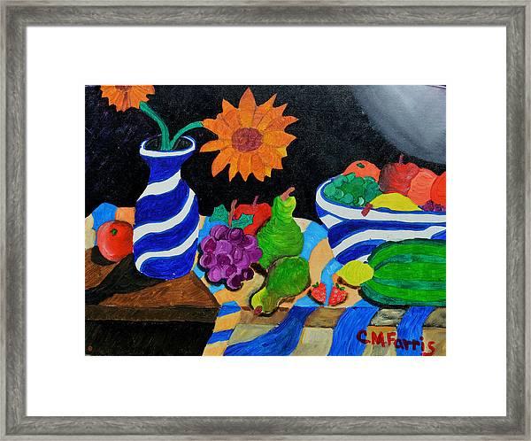 Fruitful Still Life Framed Print