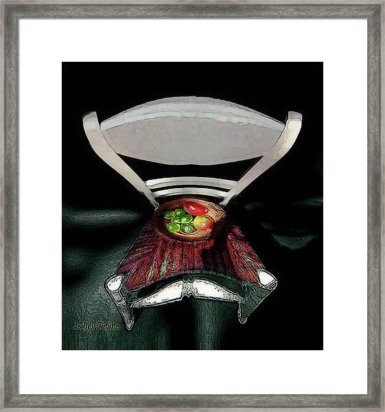 Abstract Fruit Art 9 Framed Print