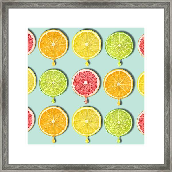 Fruity Framed Print