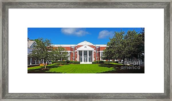 Fsu College Of Law Framed Print