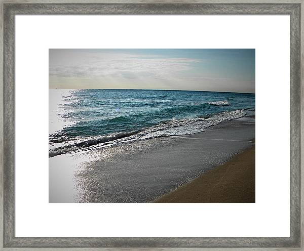 Ft Lauderdale Beach Framed Print