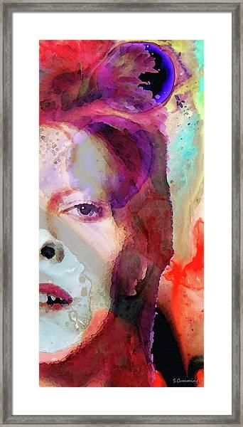 Full Color - David Bowie Tribute  Framed Print
