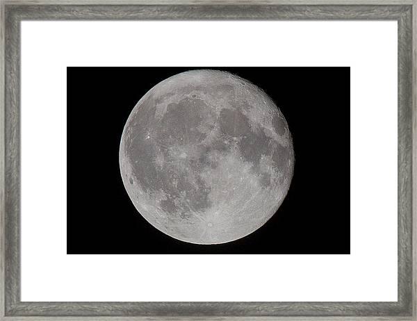 Full Moon Framed Print by Andre Goncalves