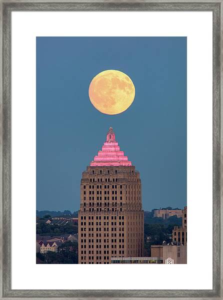 Full Moon  Framed Print