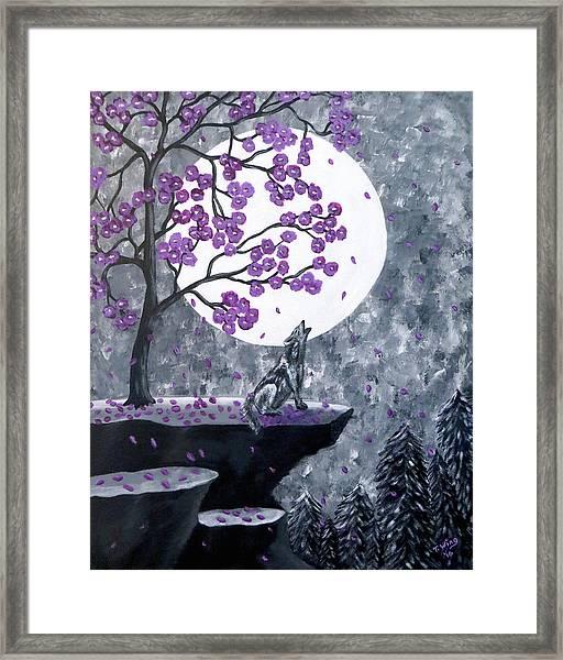 Full Moon Magic Framed Print