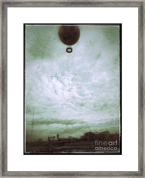 Full Of Hot Air Framed Print