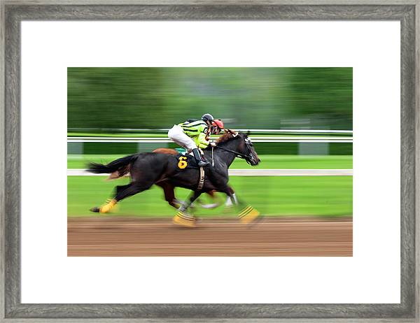 Full Stride Framed Print